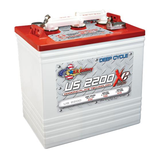 Us Battery 2200 Xc (Dul) / 6V 232 Ah / Deep Cycle Battery