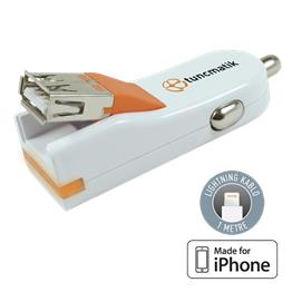 Tuncmatık Flexcharger-Lıghtnıng (Apple Mfı)-1A-1Mt. Cable
